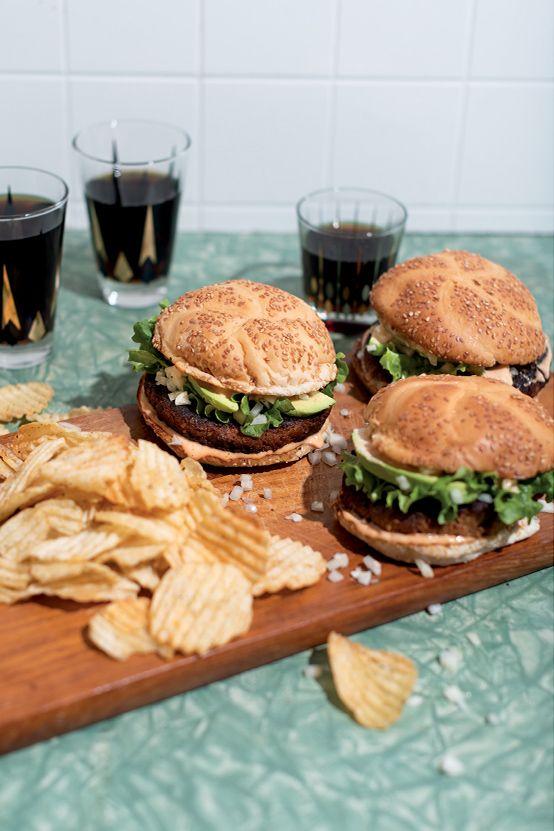 Recette végane : l'Impossible Burger® au tempeh de Jean-Philippe Cyr