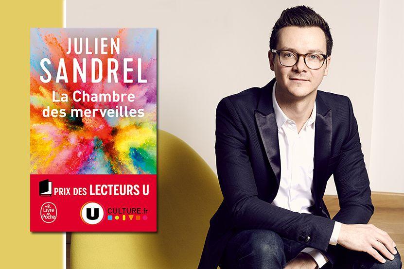 """Julien Sandrel récompensé du Prix des Lecteurs U pour """"La Chambre"""