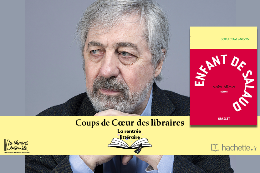 """""""Enfant de salaud"""" de Sorj Chalandon : coup de cœur d'Elodie Bonnafoux, Librairie Arcanes à Châteauroux"""