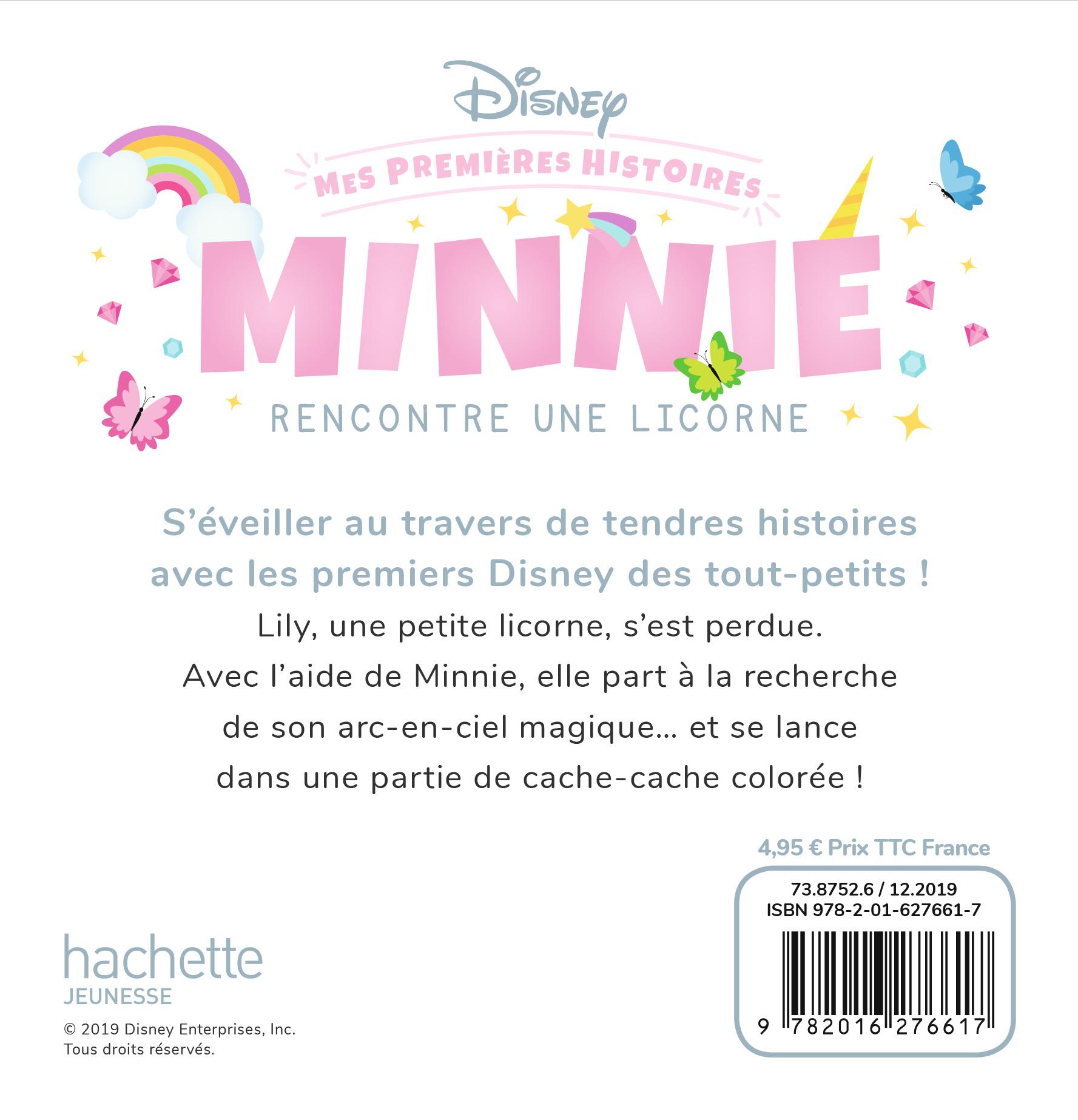 Disney Mes Premieres Histoires Minnie Rencontre Une Licorne