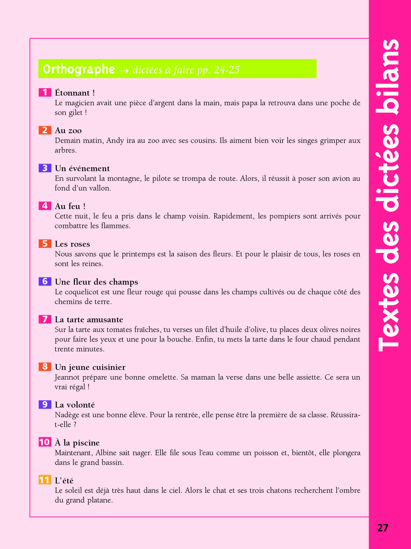 Cahier Bled - Exercices D'Orthographe Ce1 | hachette.fr