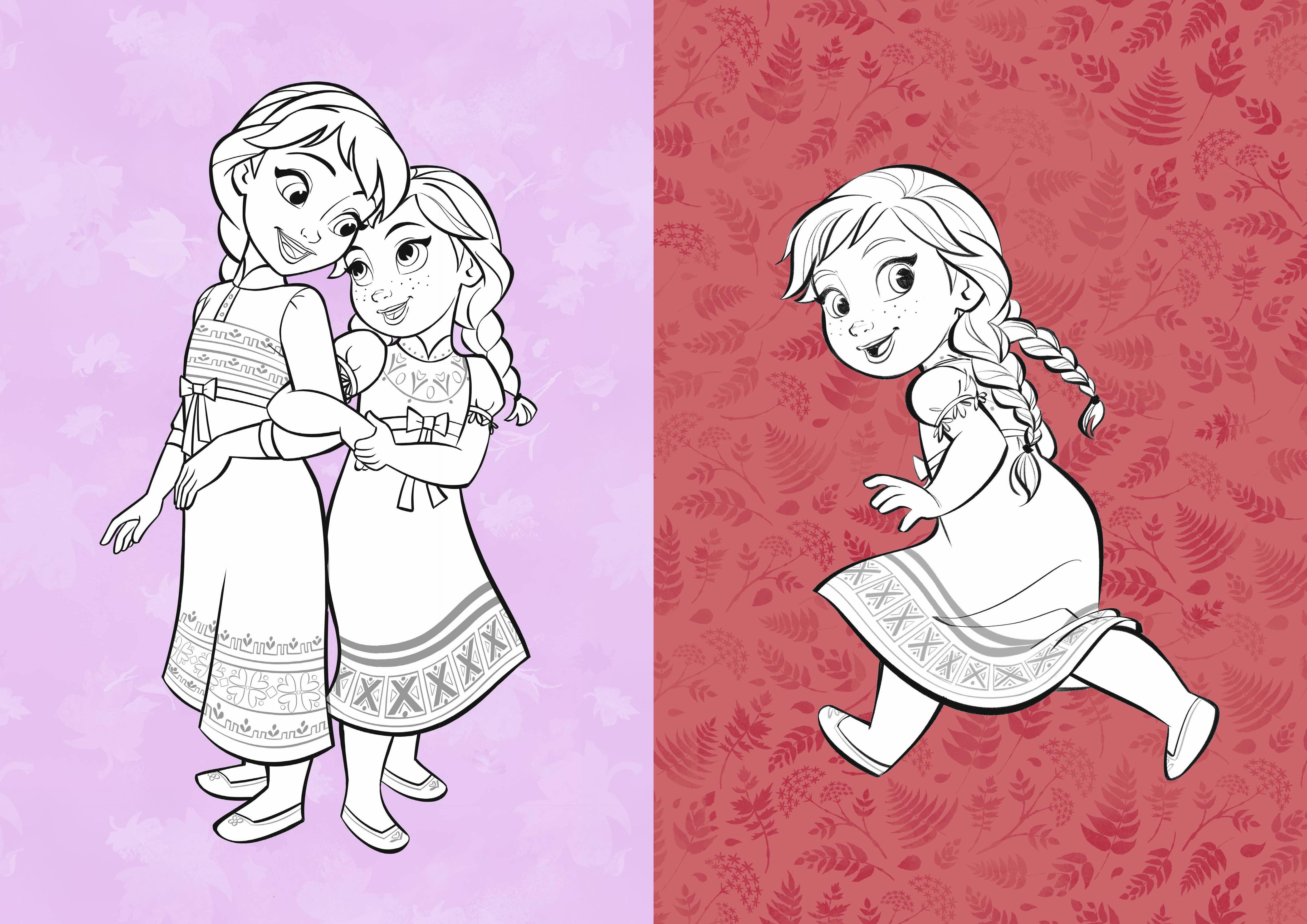 LA REINE DES NEIGES 2 - Mes coloriages - Disney | hachette.fr