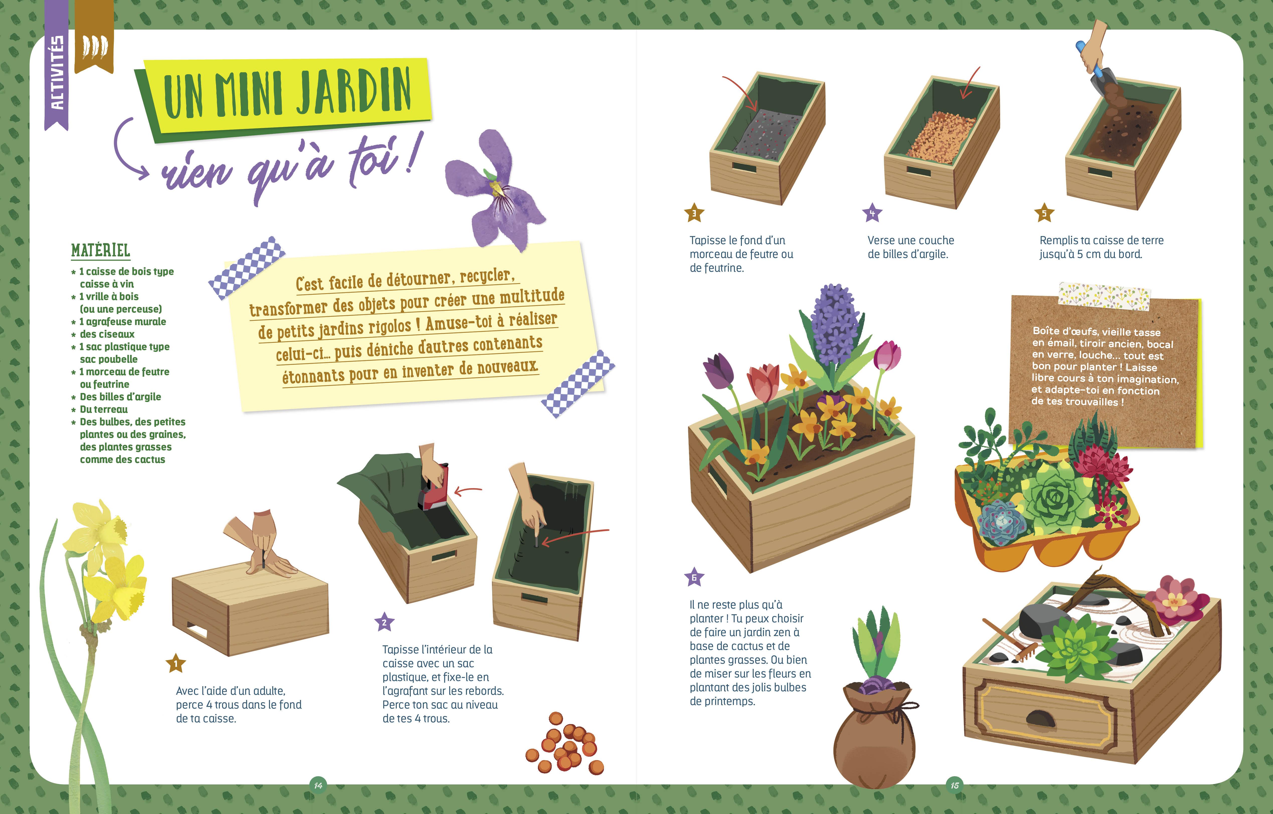 Planter Dans Une Caisse En Bois le super livre silence ça pousse !