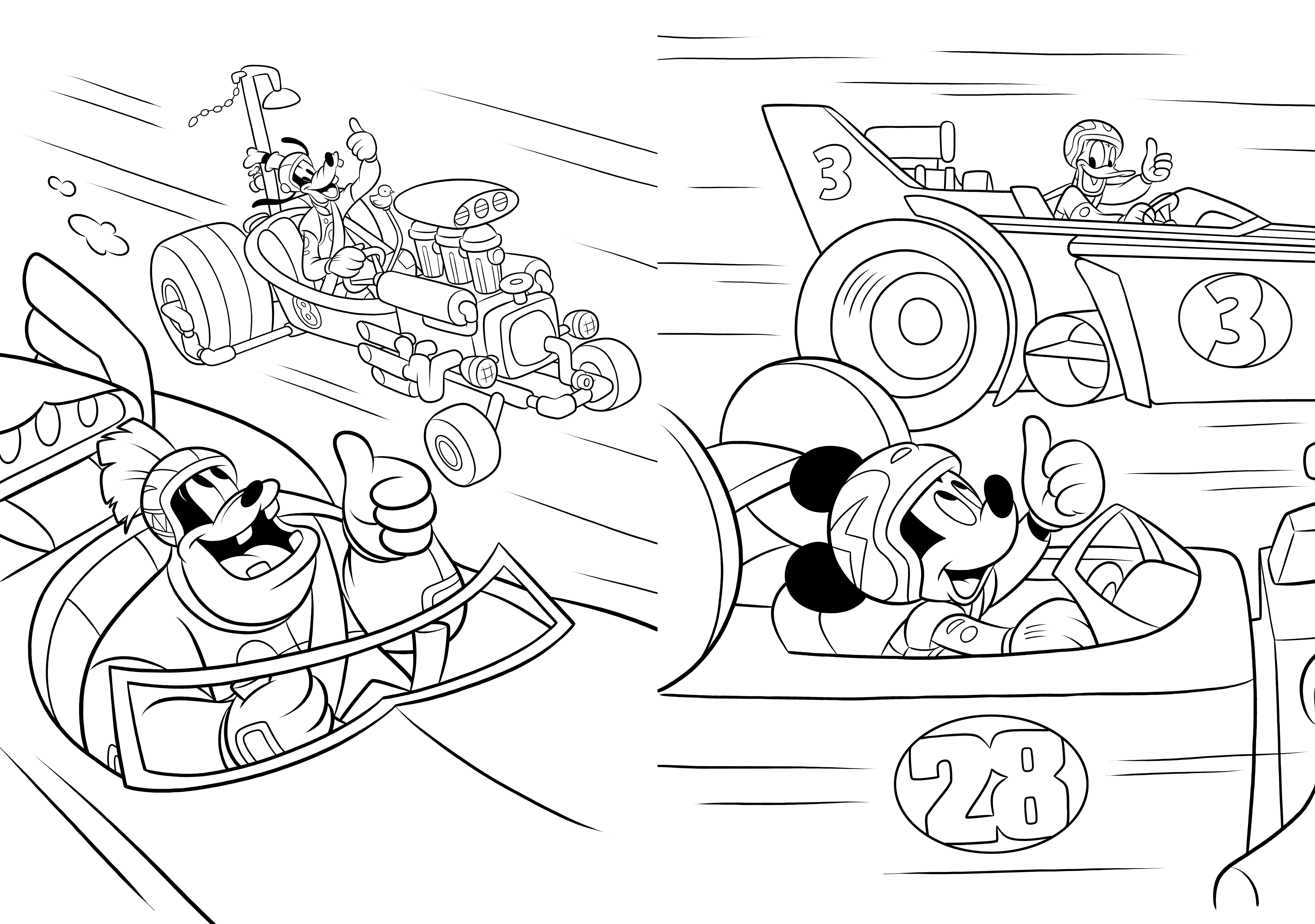 Mickey Top Depart Maxi Colo Disney Hachette Fr