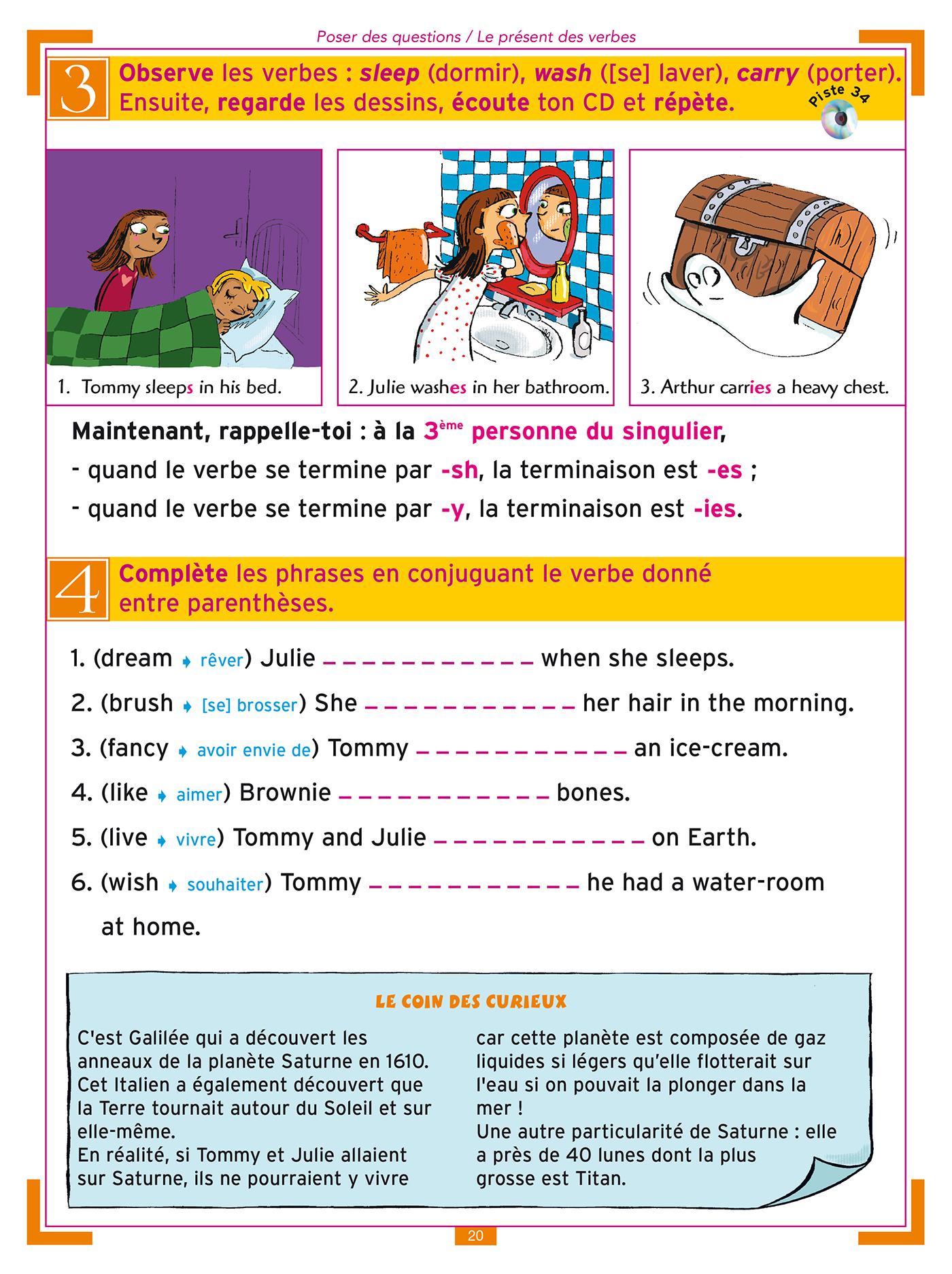 J Apprends L Anglais Avec Tommy Et Julie Cm1 Et Cm2 Hachette Fr
