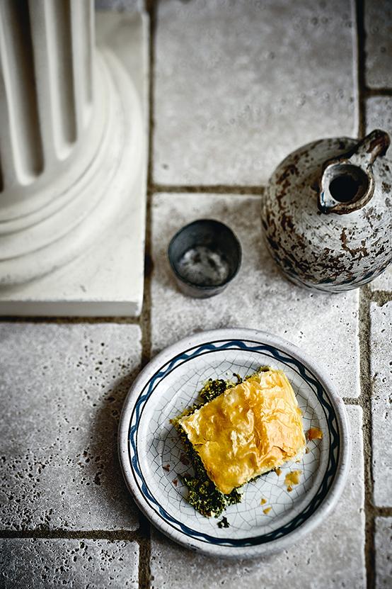 Recette de friand épinards, ricotta et feta du livre « Gastronogeek recettes végétariennes » de Thibaud Villanova