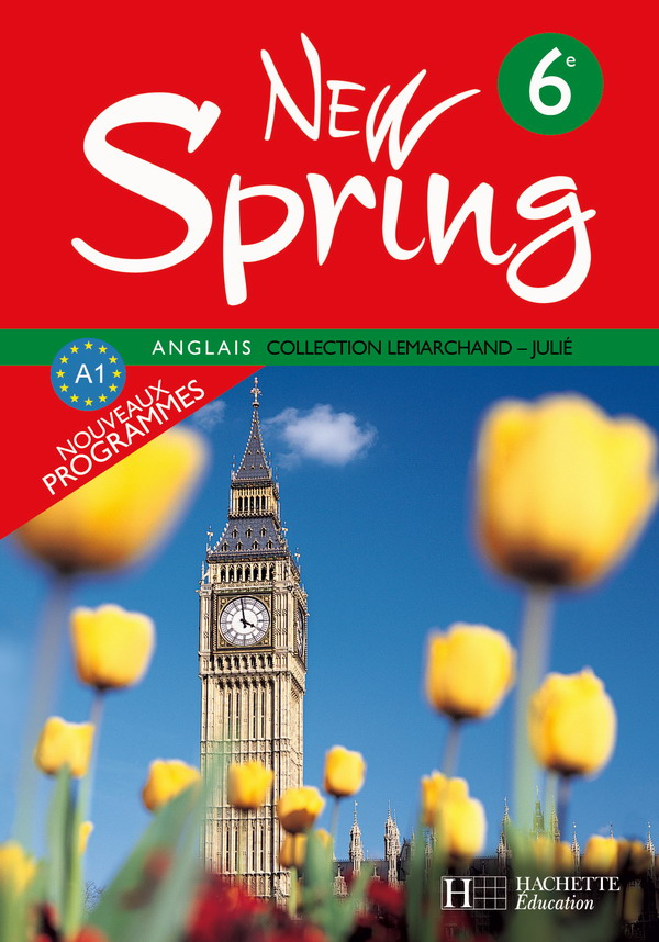New Spring 6e Lv1 Anglais Livre De L Eleve Edition 2006