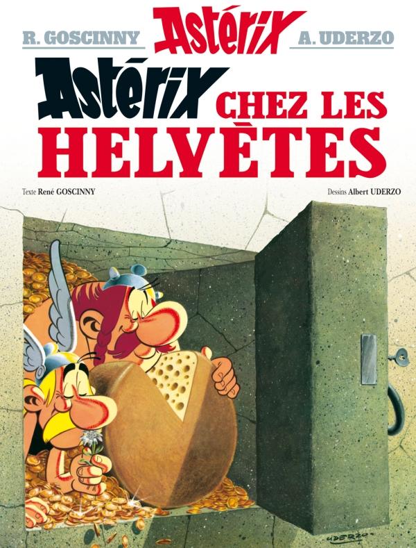 Astérix - Astérix chez les Helvètes - n°16