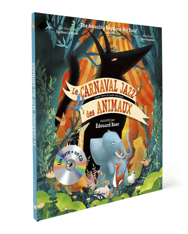 Le carnaval jazz des animaux - Livre CD