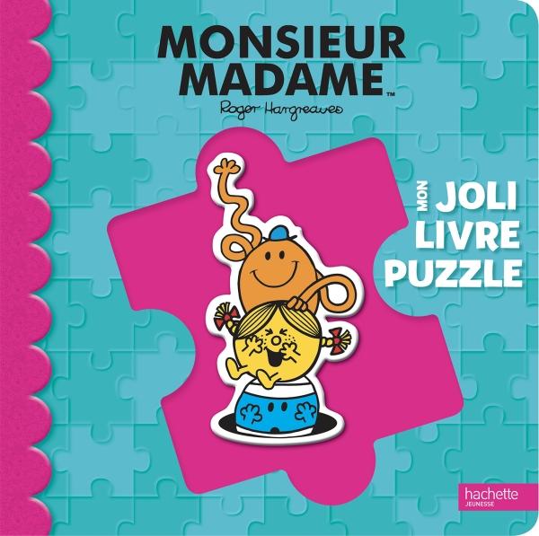 Monsieur Madame Mon Joli Livre Puzzle