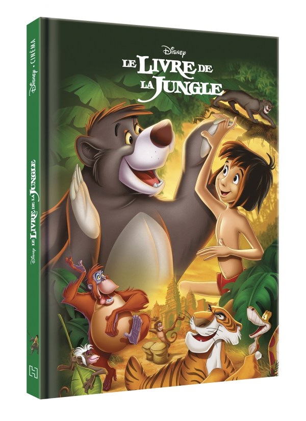 le livre de la jungle disney cinema. Black Bedroom Furniture Sets. Home Design Ideas