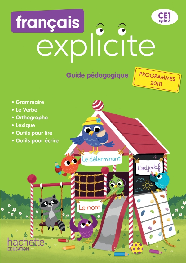 Français Explicite CE1 - Guide pédagogique + clé USB - Ed. 2019