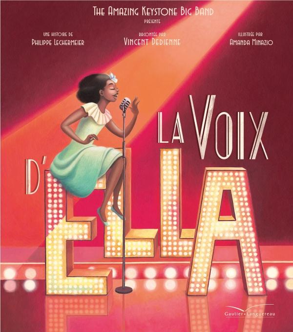 La voix d'Ella - Livre CD