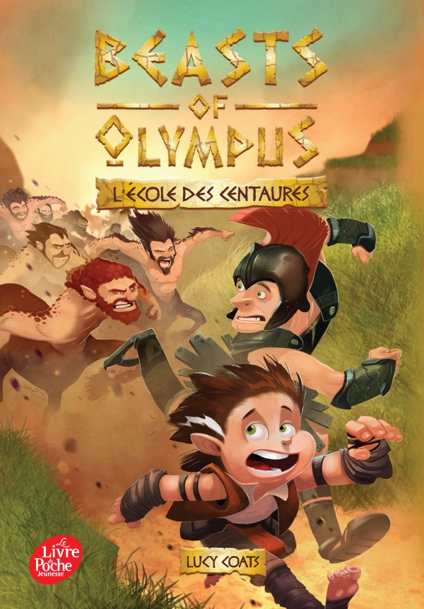 Beasts of Olympus - Tome 5 - L'école des Centaures