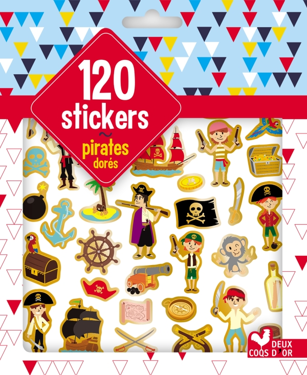 120 stickers pirates