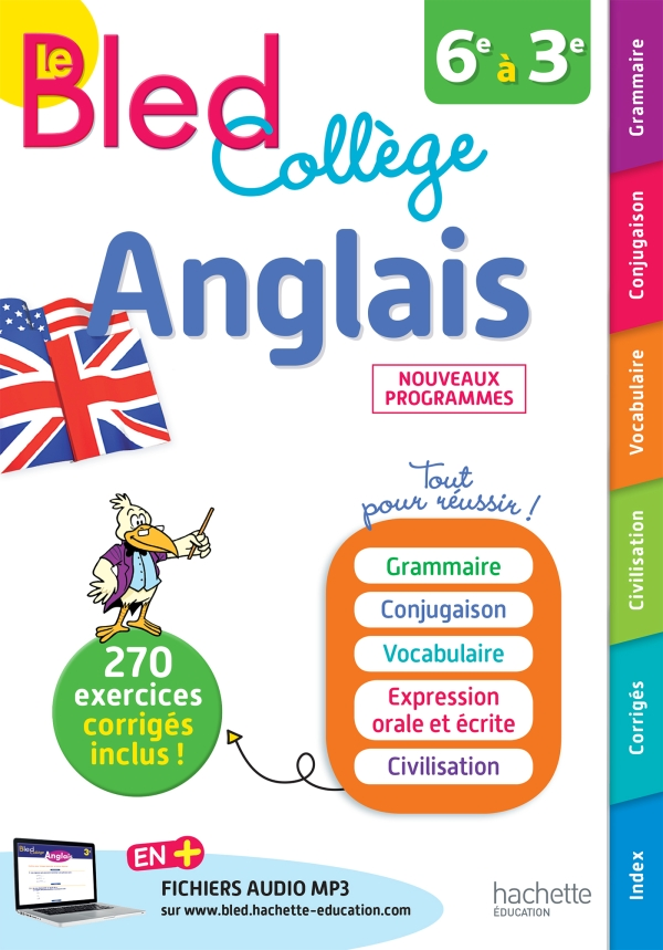 Bled Anglais Collège