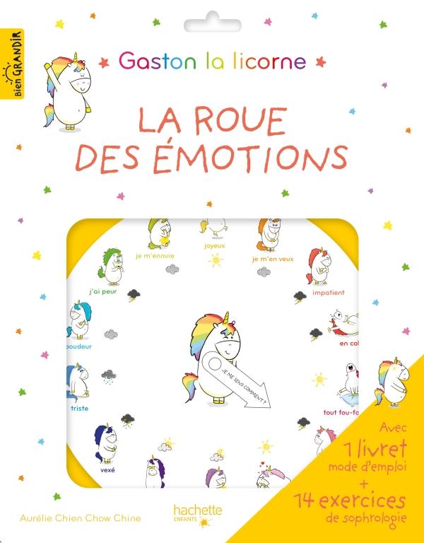 """Pochette """"La roue des émotions de Gaston"""""""