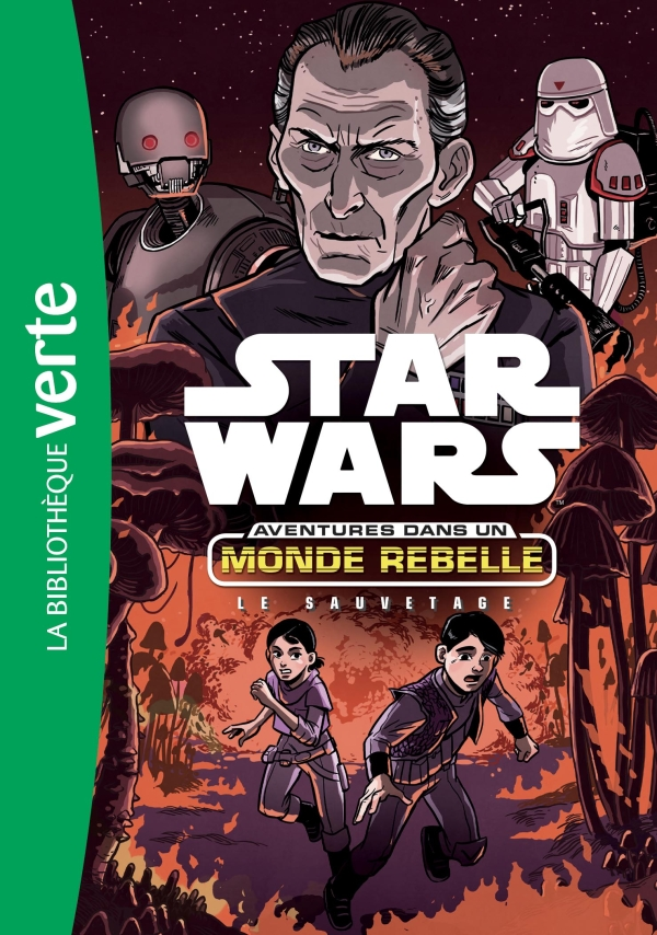 Star Wars Aventures dans un monde rebelle 07 - Le sauvetage