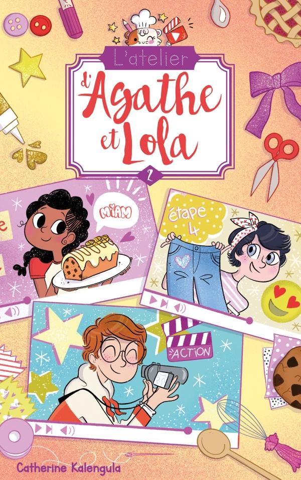 L'atelier d'Agathe et Lola - Tome 2 - Tous pour Benji