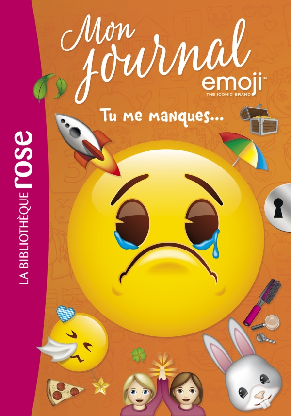 Emoji TM mon journal 11 - Tu me manques...