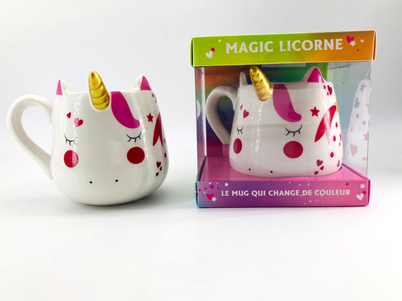 Coffret Mug Magic Licorne Nouvelle édition