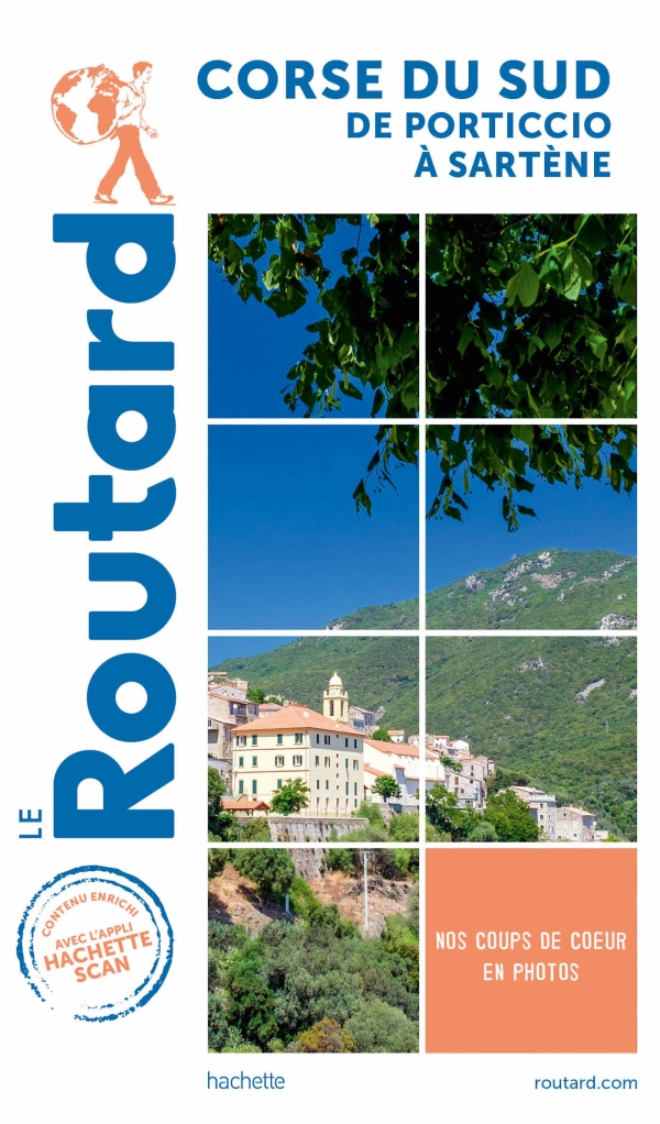 Guide du Routard Corse du Sud de Porticcio à Sartène