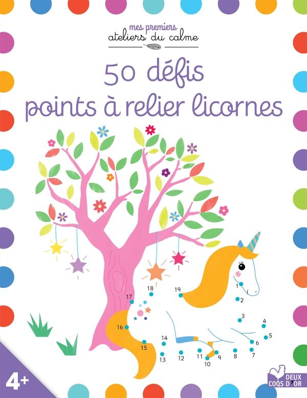 50 défis points à relier Licornes