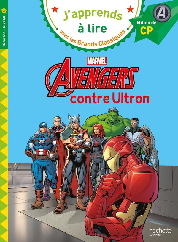 Disney -  Marvel - Avengers contre Ultron, CP niveau 2