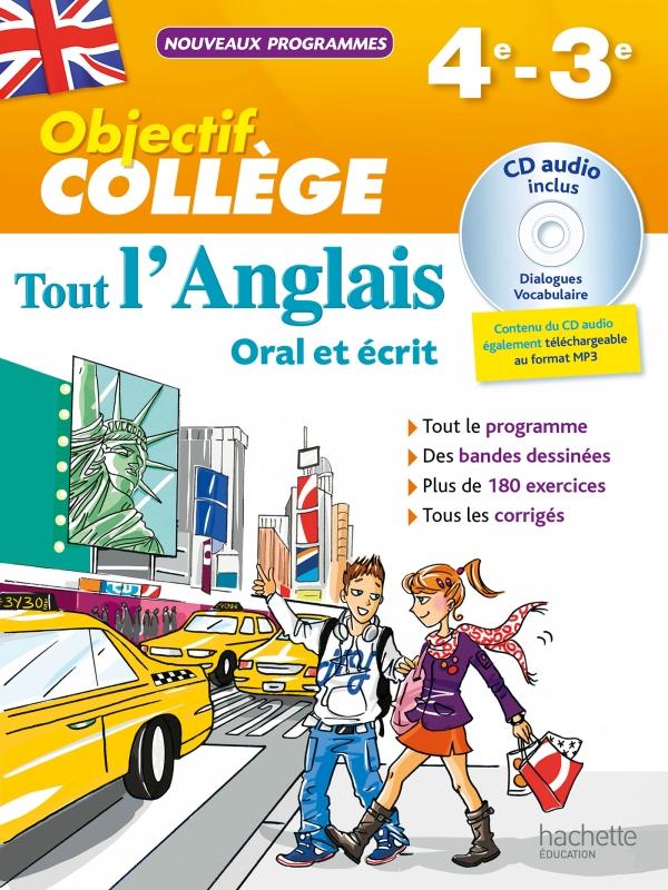 Objectif College Tout L Anglais 4e 3e
