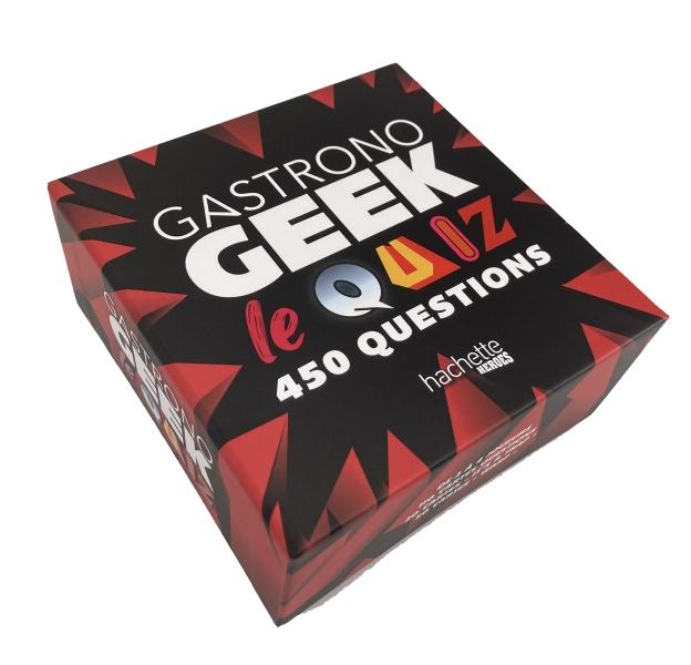 Boîte Gastronogeek : le quiz