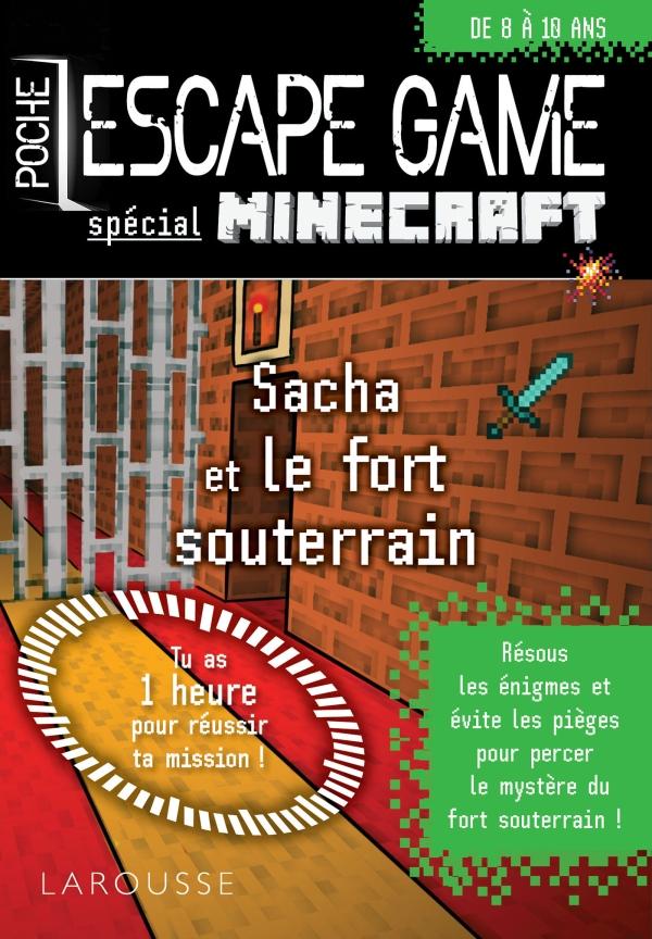 Escape Game De Poche Special Minecraft Enferme Dans Le Fort Souterrain