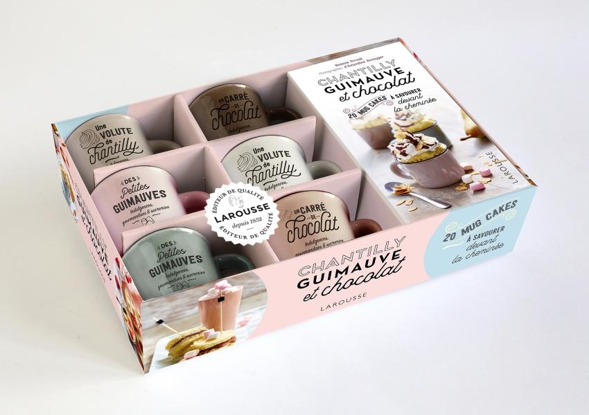 Chantilly, guimauve et chocolat