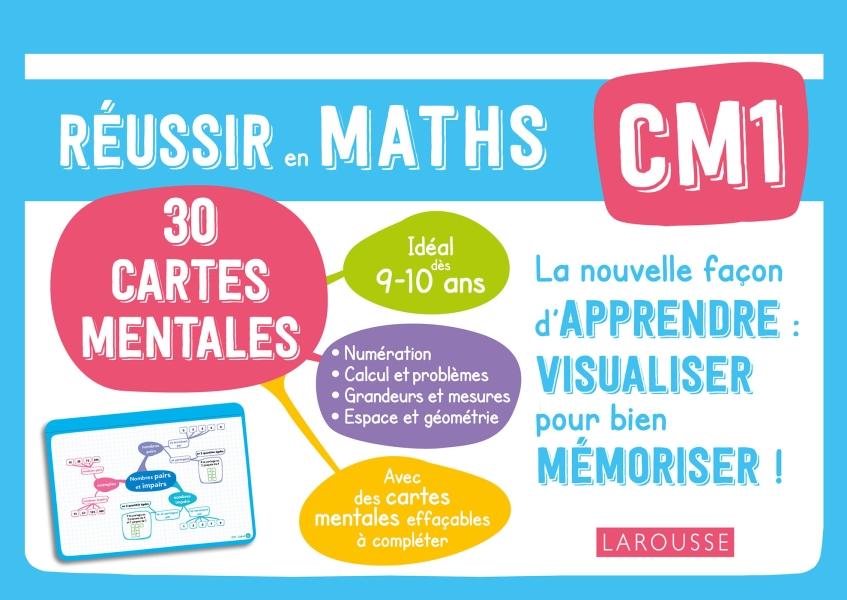 Cartes mentales Maths CM1