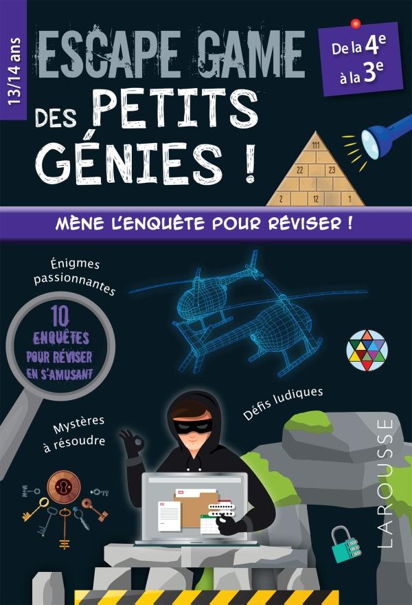 Escape game des petits génies 4e-3e
