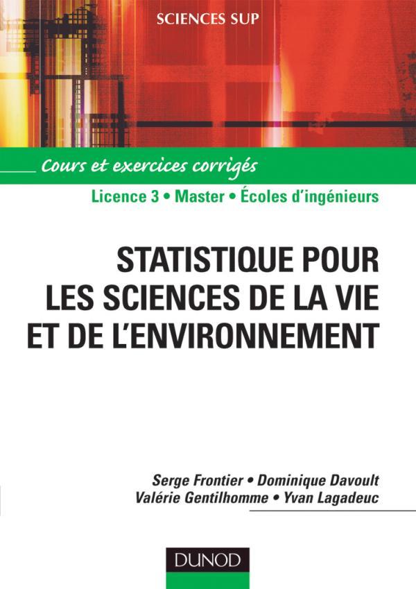 Statistique pour les sciences de la vie et de l ...