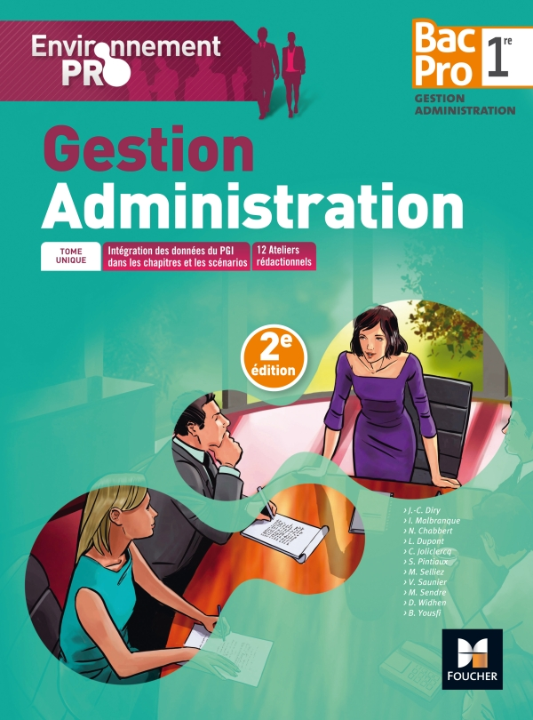 Environnement Pro - Gestion-Administration - 1re BAC PRO GA