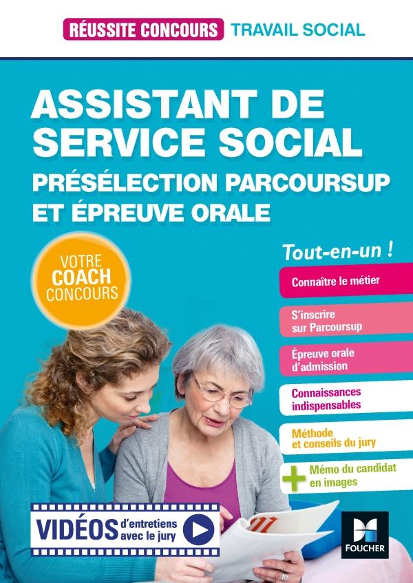Réussite Concours Assistant de service social (ASS) Présélection Parcoursup & Ep orale  Préparation