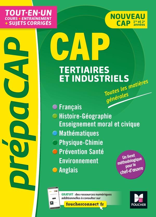 PrépaCAP - CAP Tertiaires et industriels - Matières générales Nouv. programmes-Révision entraînement