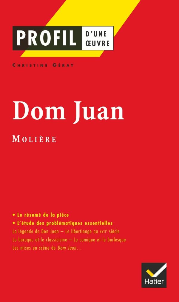 Dissertation dom juan baroque
