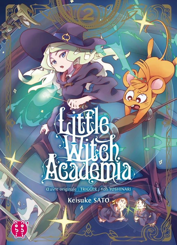 Little Witch Academia T02