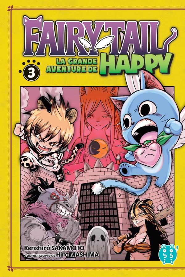 Fairy Tail - La grande aventure de Happy T03
