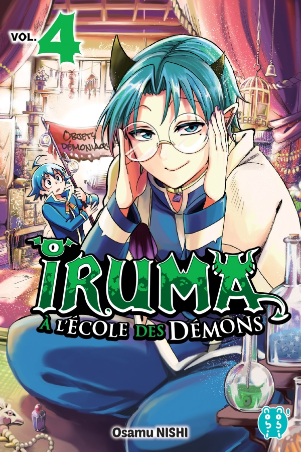 Iruma à l'école des démons T04