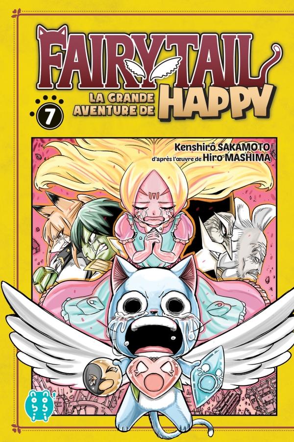Fairy Tail - La grande aventure de Happy T07