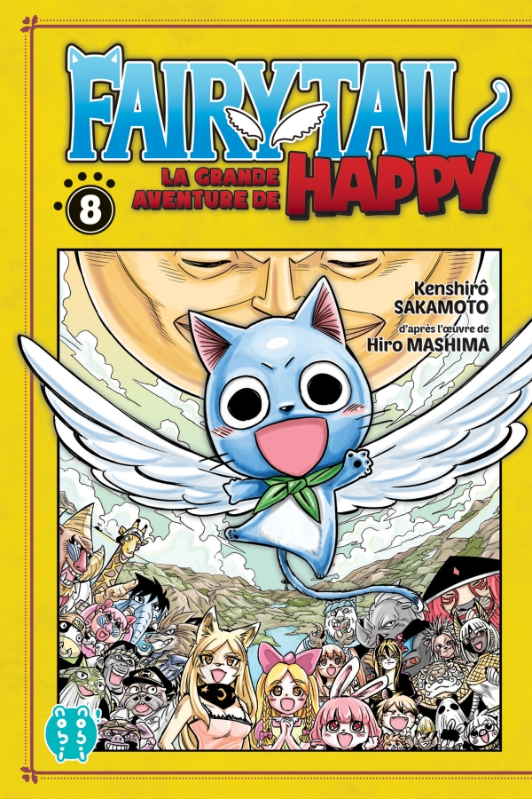 Fairy Tail - La grande aventure de Happy T08