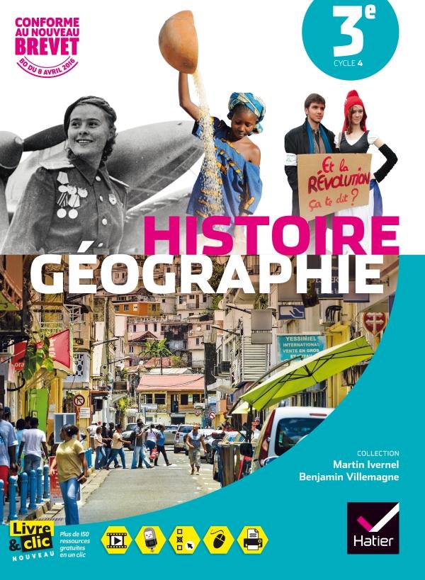 Histoire-Géographie 3e éd. 2016 - Manuel de l'élève