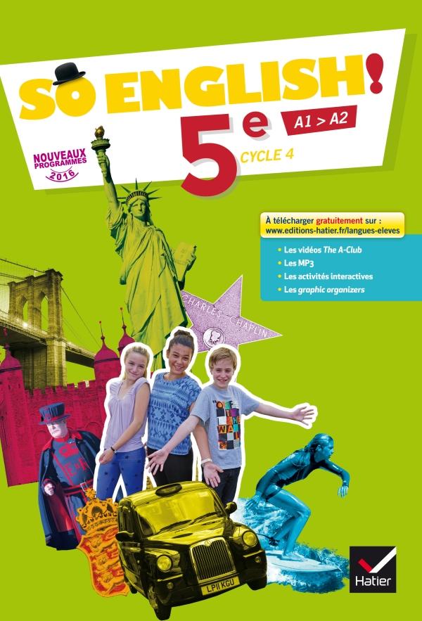 So English Anglais 5e Ed 2017 Livre Eleve