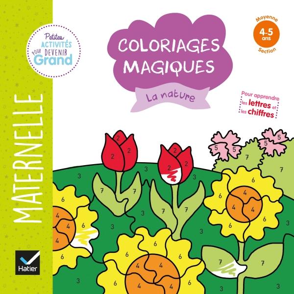 Coloriages magiques - La nature MS
