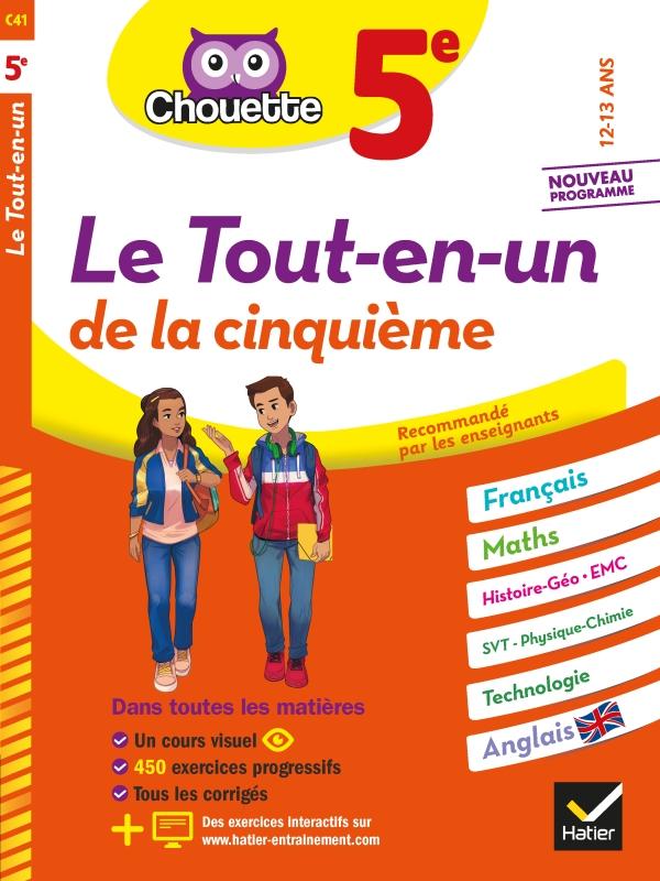 Chouette Le Tout-en-un 5e