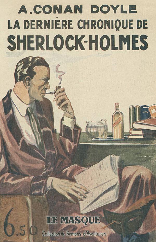 """La dernière chronique de Sherlock Holmes - fac similé """"prestige"""""""