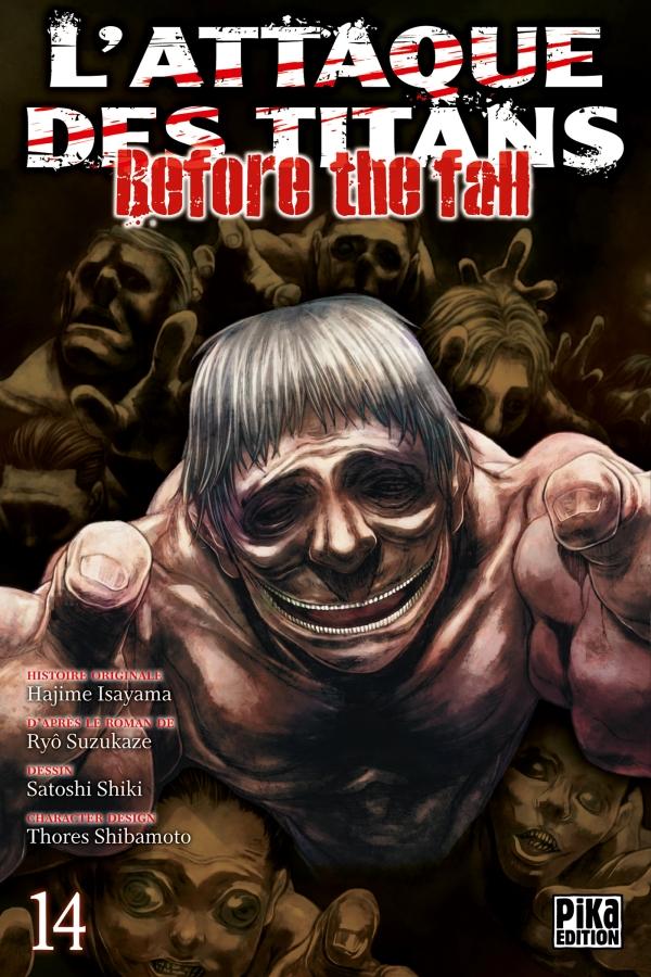 L'Attaque des Titans - Before the Fall T14